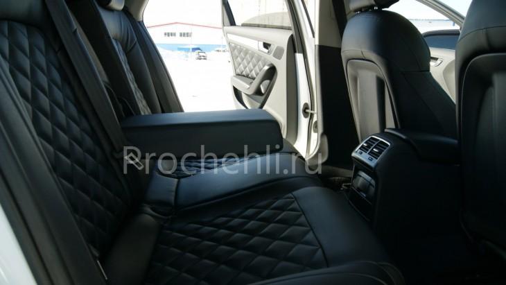 Чехлы на Audi A4 B8 со спорт-сиденьями №11