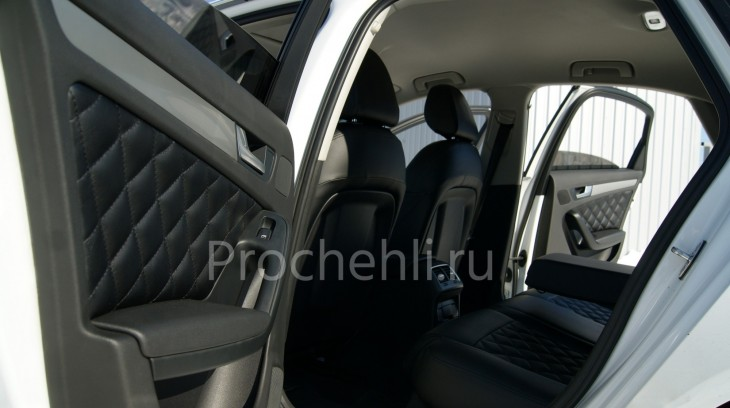 Чехлы на Audi A4 B8 со спорт-сиденьями №12