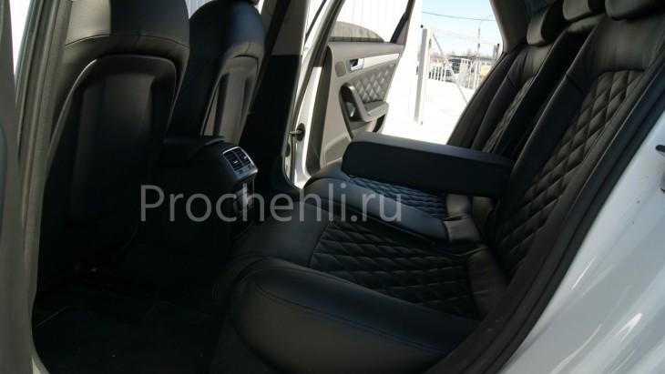 Чехлы на Audi A4 B8 со спорт-сиденьями №14