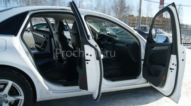Чехлы на Audi A4 B8 со спорт-сиденьями №15