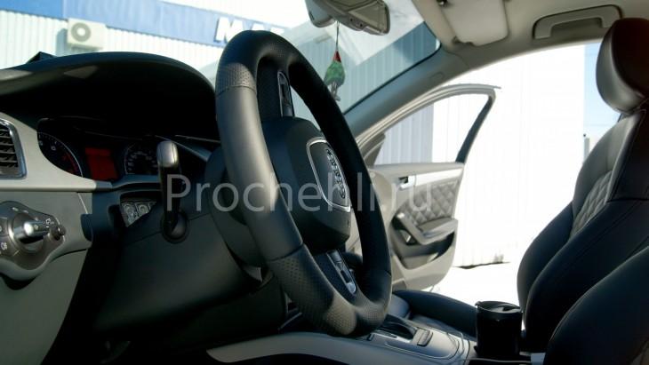 Чехлы на Audi A4 B8 со спорт-сиденьями №16