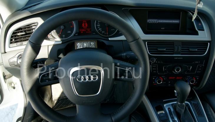 Чехлы на Audi A4 B8 со спорт-сиденьями №17