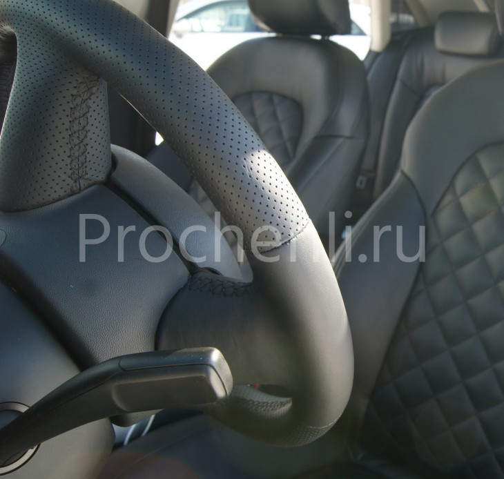 Чехлы на Audi A4 B8 со спорт-сиденьями №18