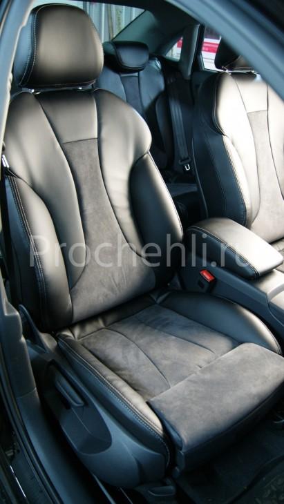 Чехлы на Audi A3 8V sport салон с эффектом перетяжки сидений №2