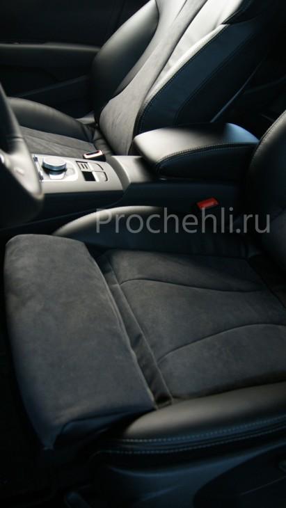 Чехлы на Audi A3 8V sport салон с эффектом перетяжки сидений №5