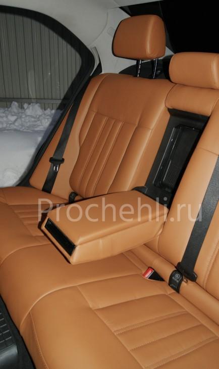 Чехлы на Mercedes-Benz E-klasse (W212) c эффектом перетяжки салона из экокожи №6
