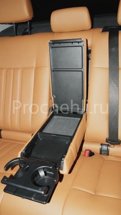 Чехлы на Mercedes-Benz E-klasse (W212) c эффектом перетяжки салона из экокожи №8