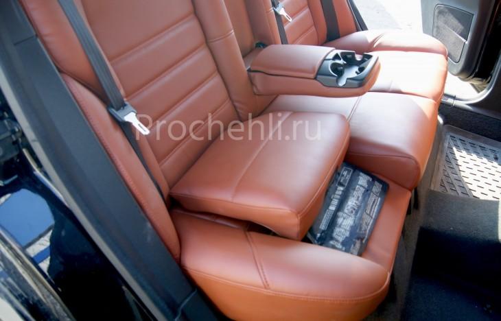 Чехлы на Volvo S40 с эффектом перетяжки салона №2