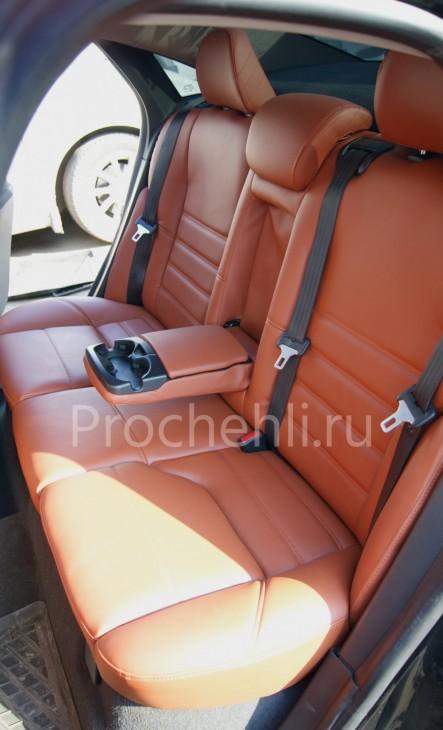 Чехлы на Volvo S40 с эффектом перетяжки салона №6