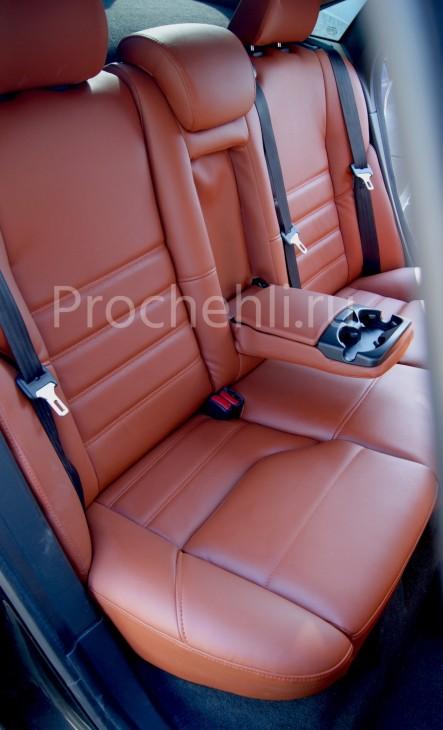 Чехлы на Volvo S40 с эффектом перетяжки салона №7
