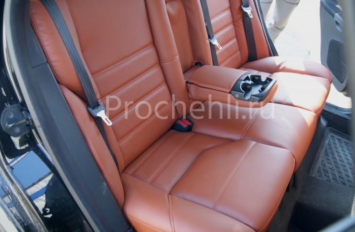 Чехлы на Volvo S40 с эффектом перетяжки салона №8