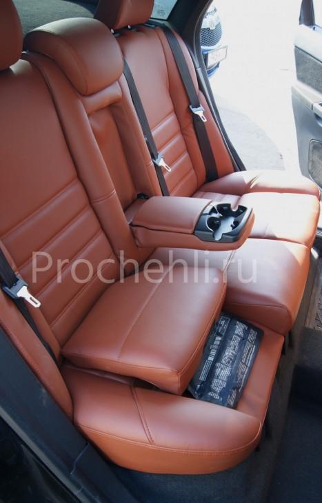 Чехлы на Volvo S40 с эффектом перетяжки салона №9