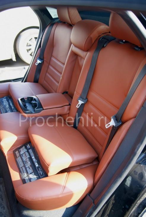 Чехлы на Volvo S40 с эффектом перетяжки салона №10